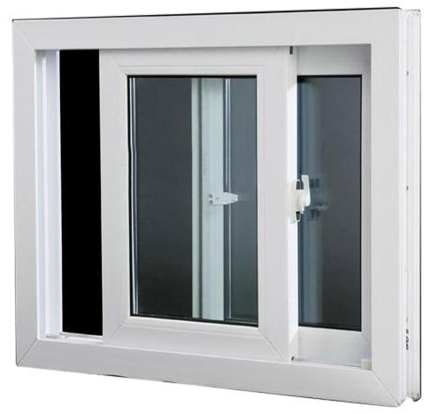 uPVC 2 Track Sliding Window Image