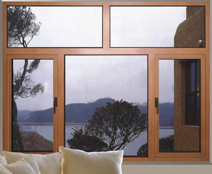 uPVC Fixed Glazing Casement Window Image