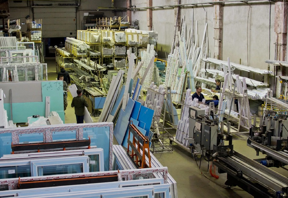How uPVC Windows & Doors are Manufactured in a Factory?